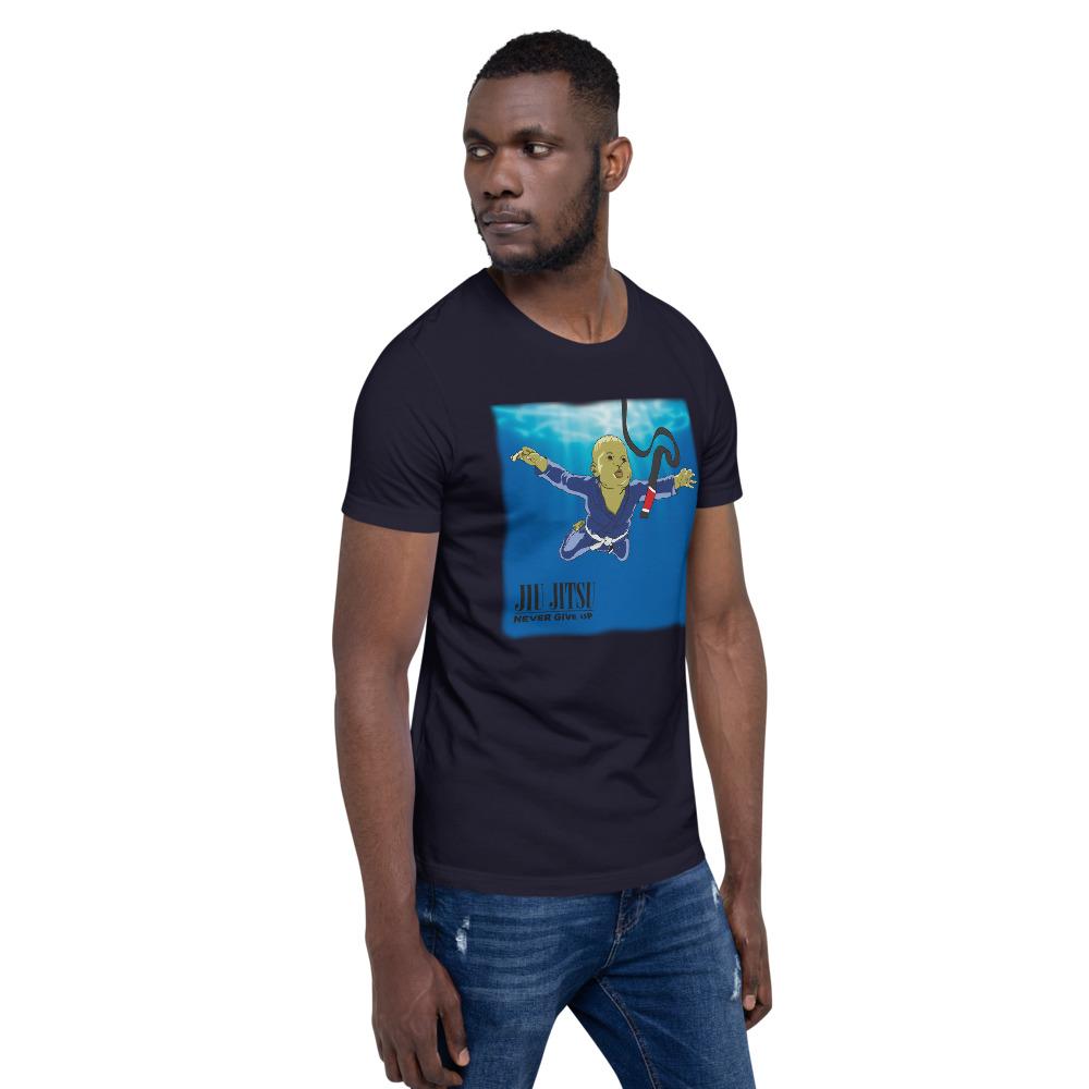 BJJ T-shirt - Never give up, you'll get BJJ black belt 9