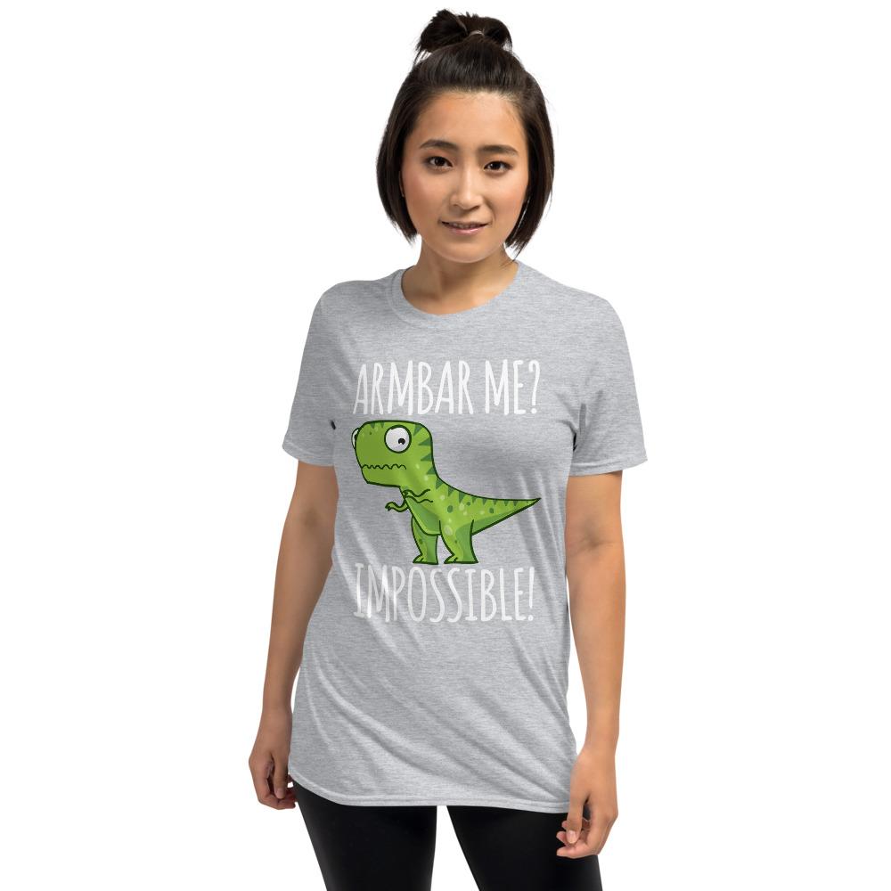 Women BJJ shirt - Brazilian Jiu-jitsu Armbar T-rex? not possible 12