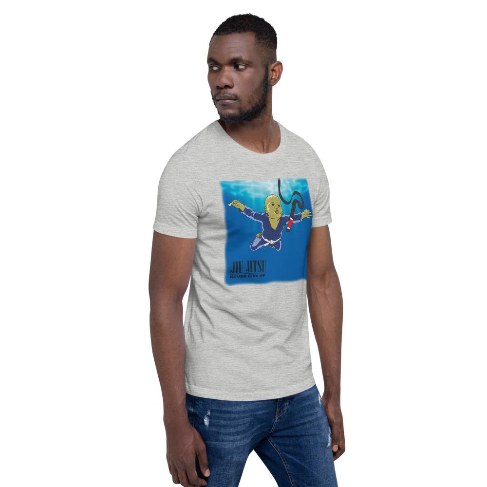 BJJ T-shirt - Never give up, you'll get BJJ black belt 12