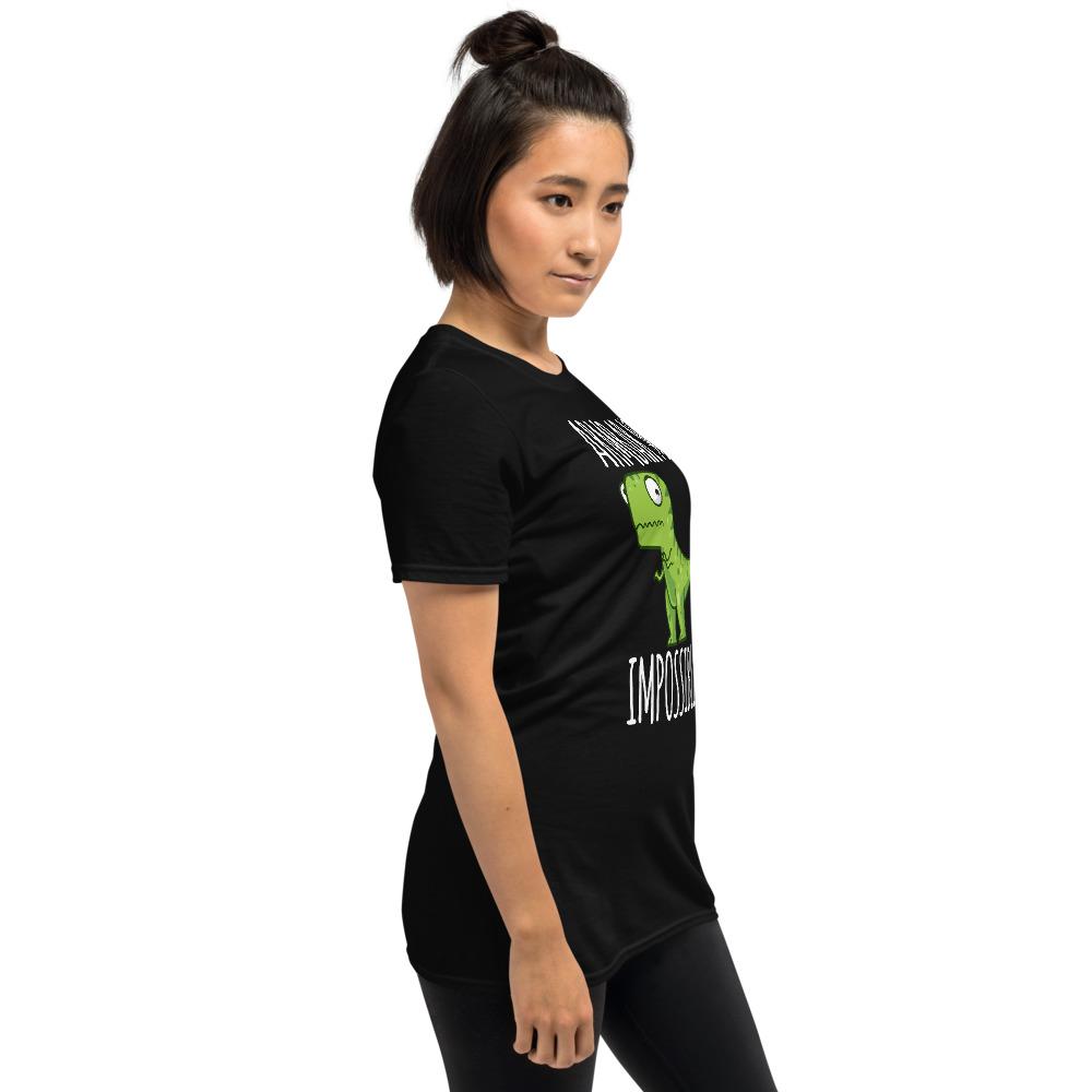 Women BJJ shirt - Brazilian Jiu-jitsu Armbar T-rex? not possible 4