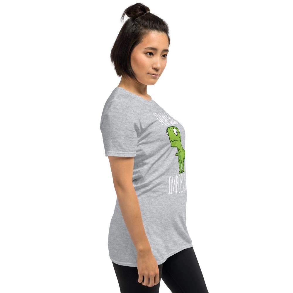 Women BJJ shirt - Brazilian Jiu-jitsu Armbar T-rex? not possible 13
