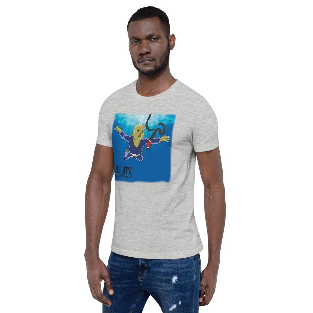 BJJ T-shirt - Never give up, you'll get BJJ black belt 11