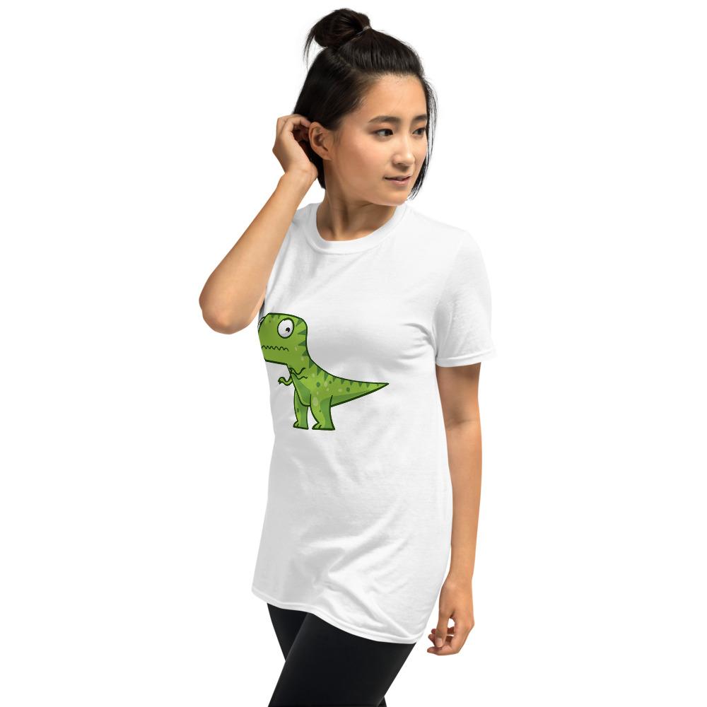 Women BJJ shirt - Brazilian Jiu-jitsu Armbar T-rex? not possible 3