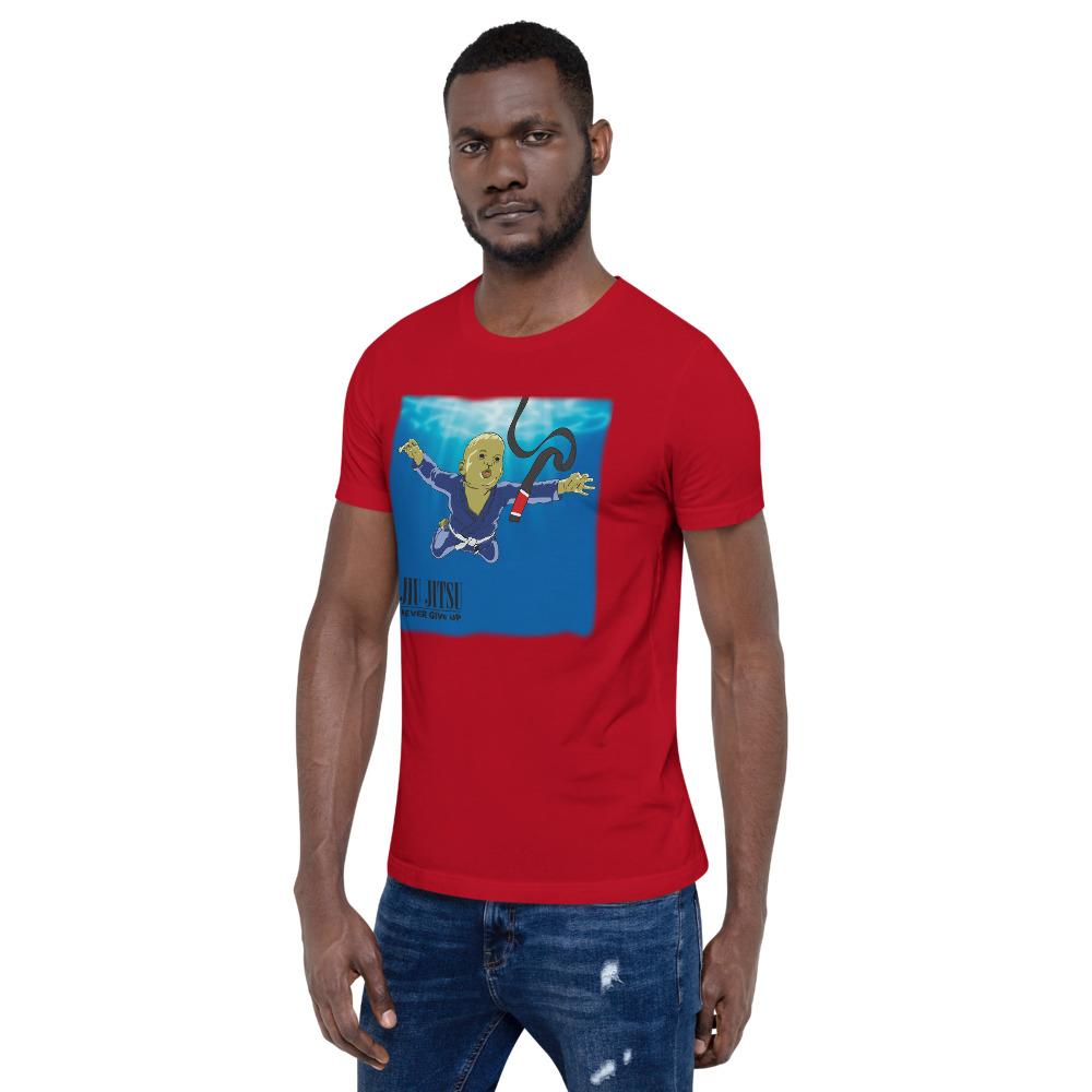 BJJ T-shirt - Never give up, you'll get BJJ black belt 14