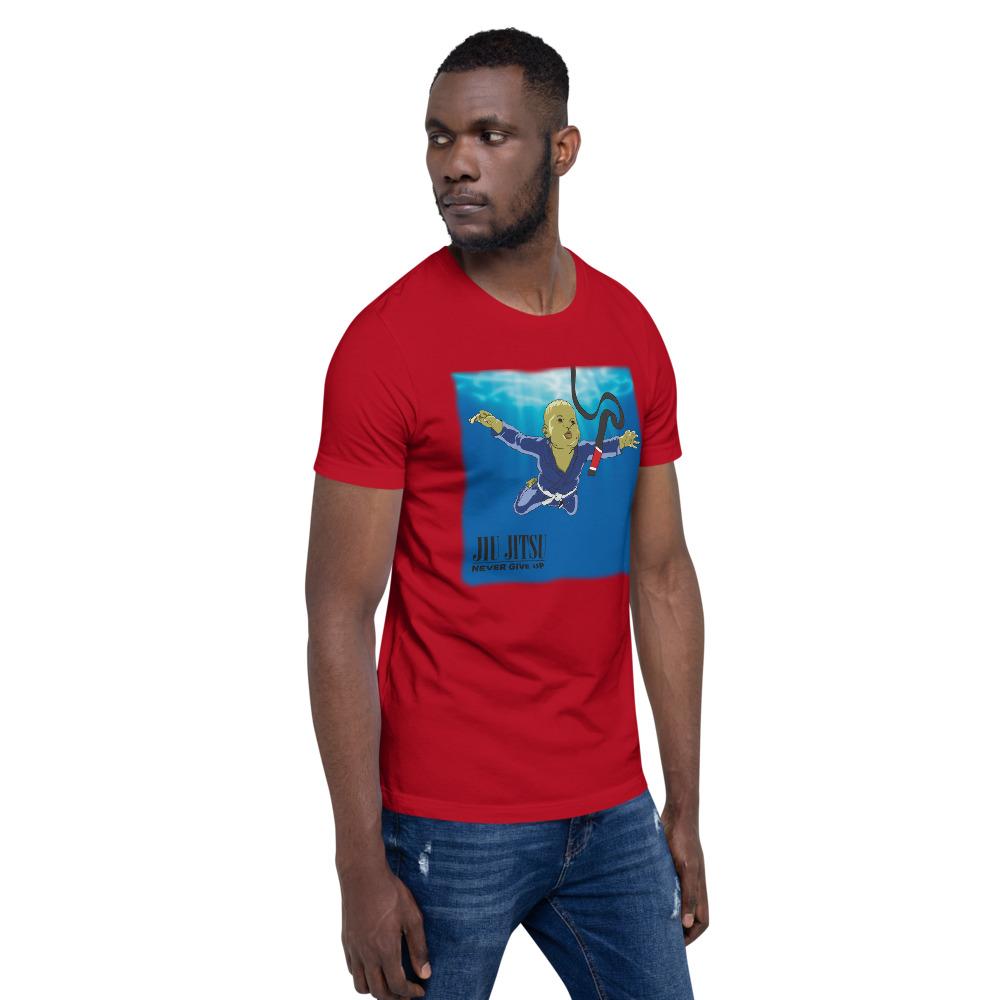 BJJ T-shirt - Never give up, you'll get BJJ black belt 15