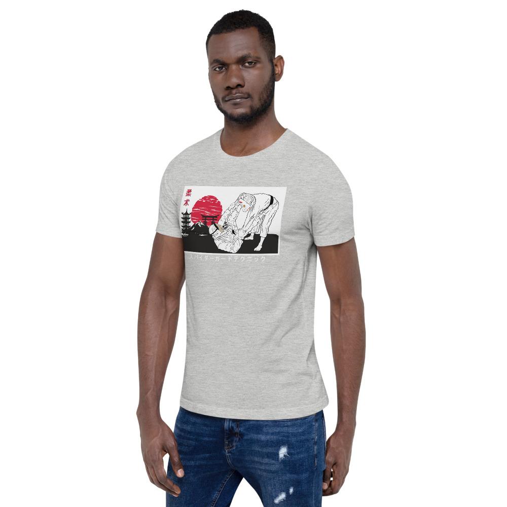 Brazilian Jiu-jitsu Spider guard - Ancient Japanese artwork Long Sleeve BJJ T-Shirt 4