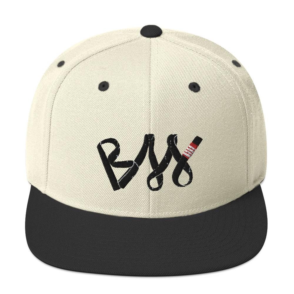 BJJ Snapback Hat BJJ Black belt 1