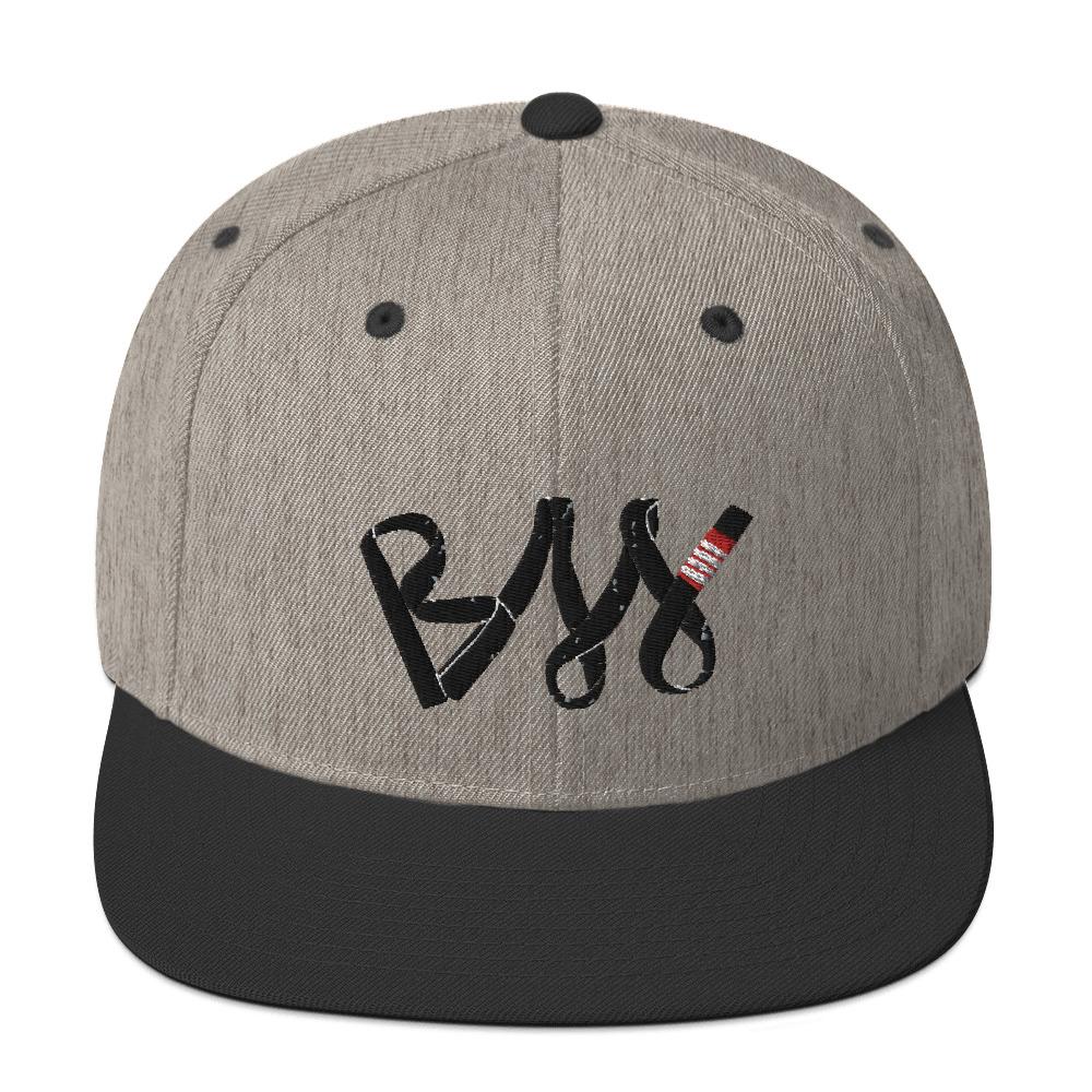 BJJ Snapback Hat BJJ Black belt 2
