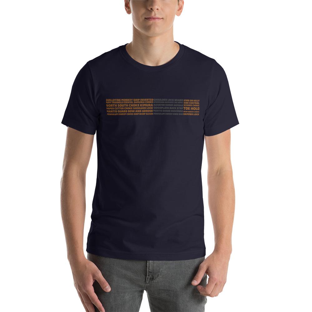 Show Your Rank By BJJ Short-Sleeve T-Shirt Brazilian Jiu-Jitsu BJJ Brown Belt – BJJ Submission 3