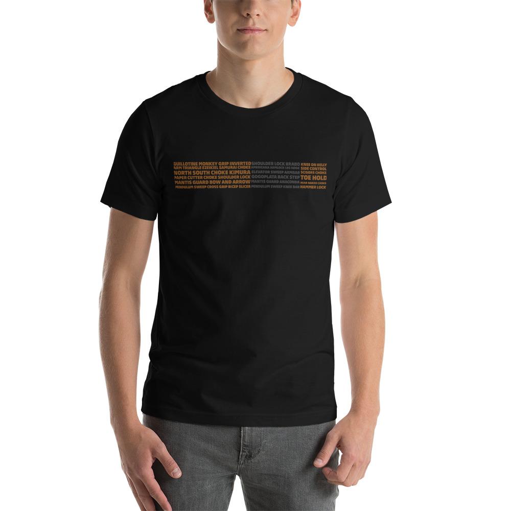 Show Your Rank By BJJ Short-Sleeve T-Shirt Brazilian Jiu-Jitsu BJJ Brown Belt – BJJ Submission 2