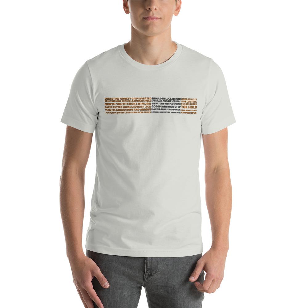Show Your Rank By BJJ Short-Sleeve T-Shirt Brazilian Jiu-Jitsu BJJ Brown Belt – BJJ Submission 5