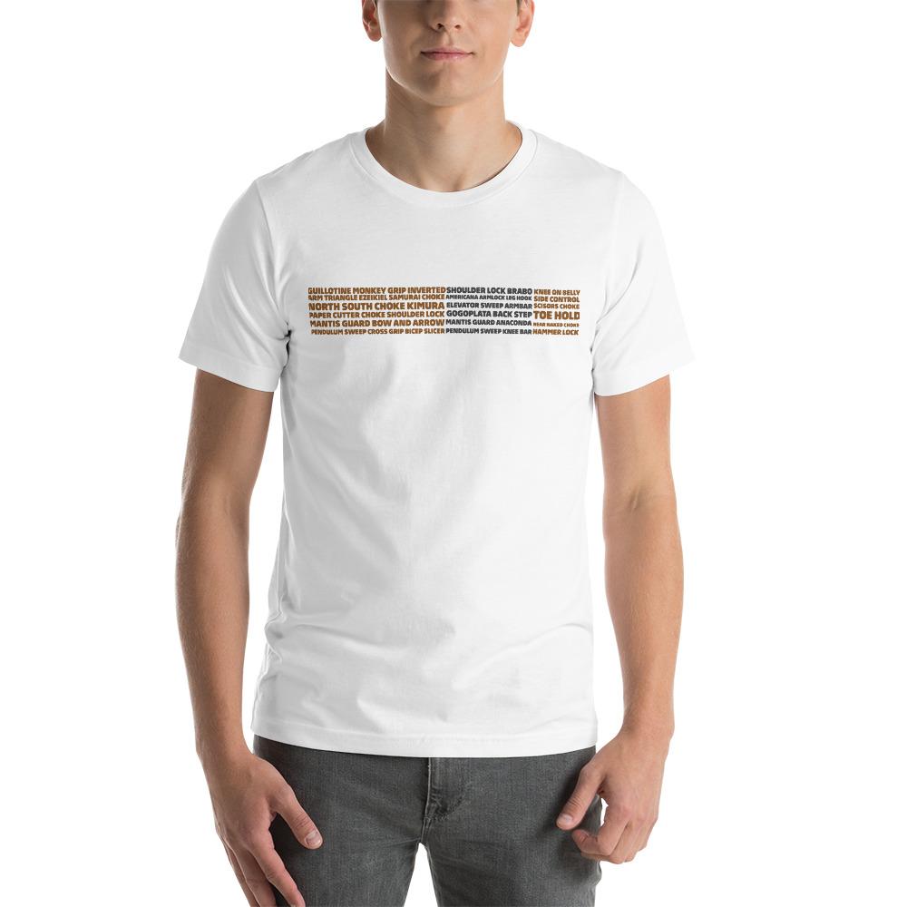 Show Your Rank By BJJ Short-Sleeve T-Shirt Brazilian Jiu-Jitsu BJJ Brown Belt – BJJ Submission 1