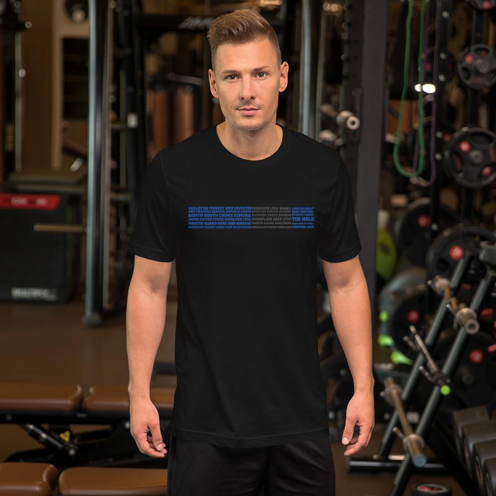 Show Your Rank By BJJ Short-Sleeve T-Shirt Brazilian Jiu-Jitsu BJJ Blue Belt – BJJ Submission 2