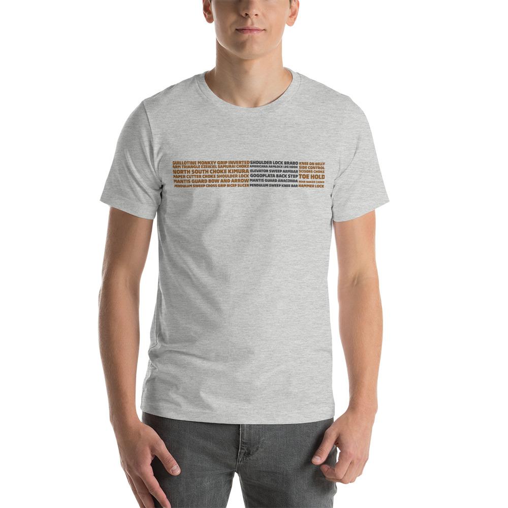 Show Your Rank By BJJ Short-Sleeve T-Shirt Brazilian Jiu-Jitsu BJJ Brown Belt – BJJ Submission 4